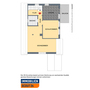 Single-Mietwohnung mit Balkon im Zwei-Familienhaus in ruhiger und zentraler Wohnlage in 48301 Nottuln