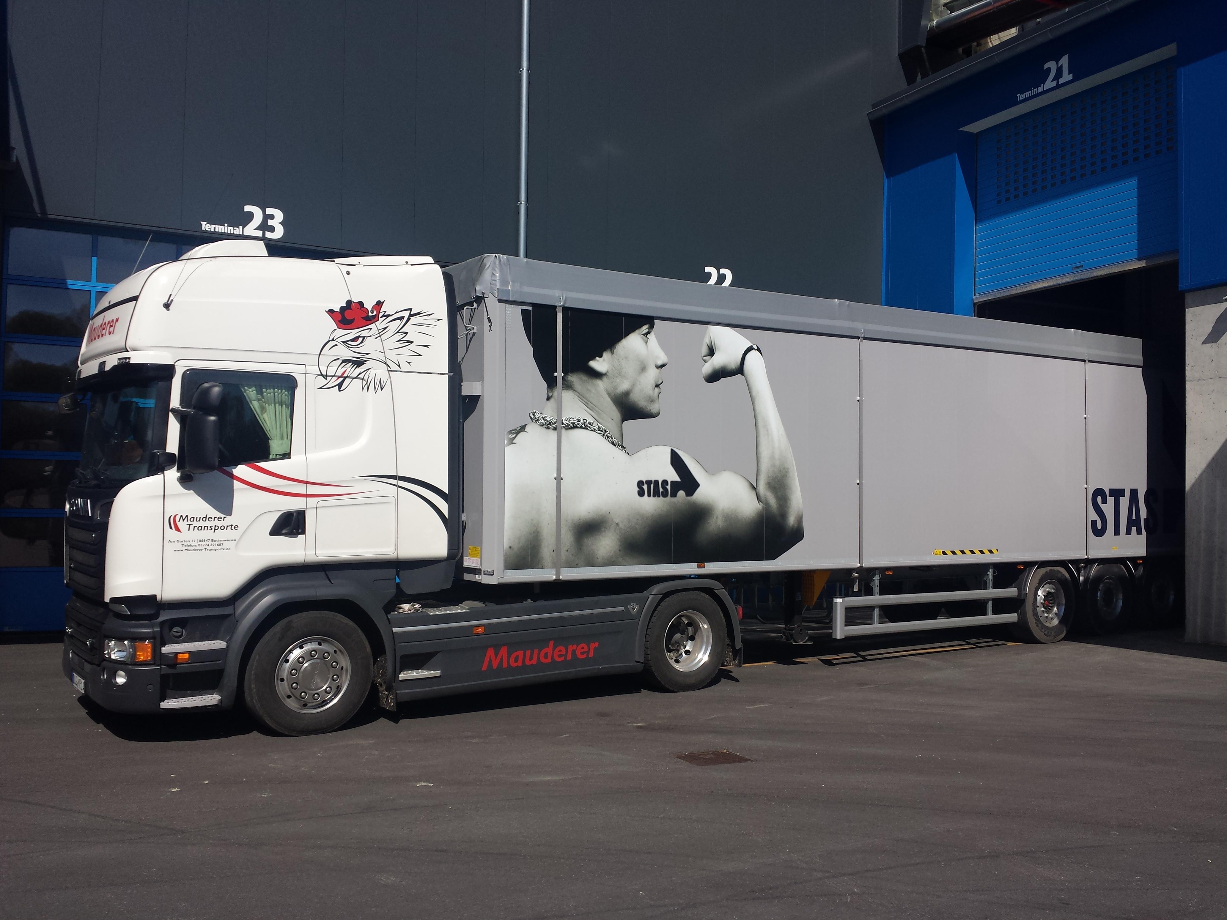 LKW-Fahrer Stellenanzeige Buttenwiesen Donauwörth Spedition Stellenanzeige