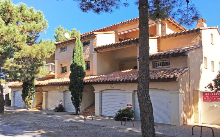 Wohnung mit Meerblick in Südfrankreich