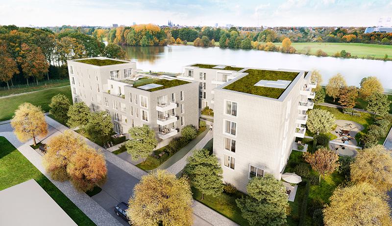 Wohnungen mit Blick auf den Werdersee