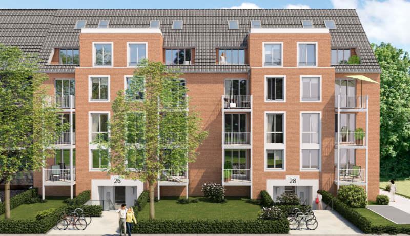 Attraktive Eigentumswohnungen in Hastedt