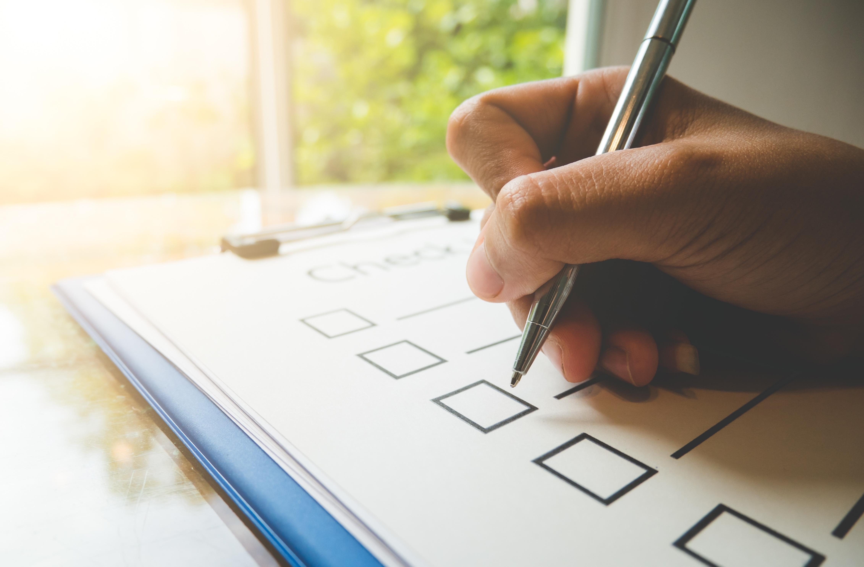 Checkliste für den Bewerbungsprozess