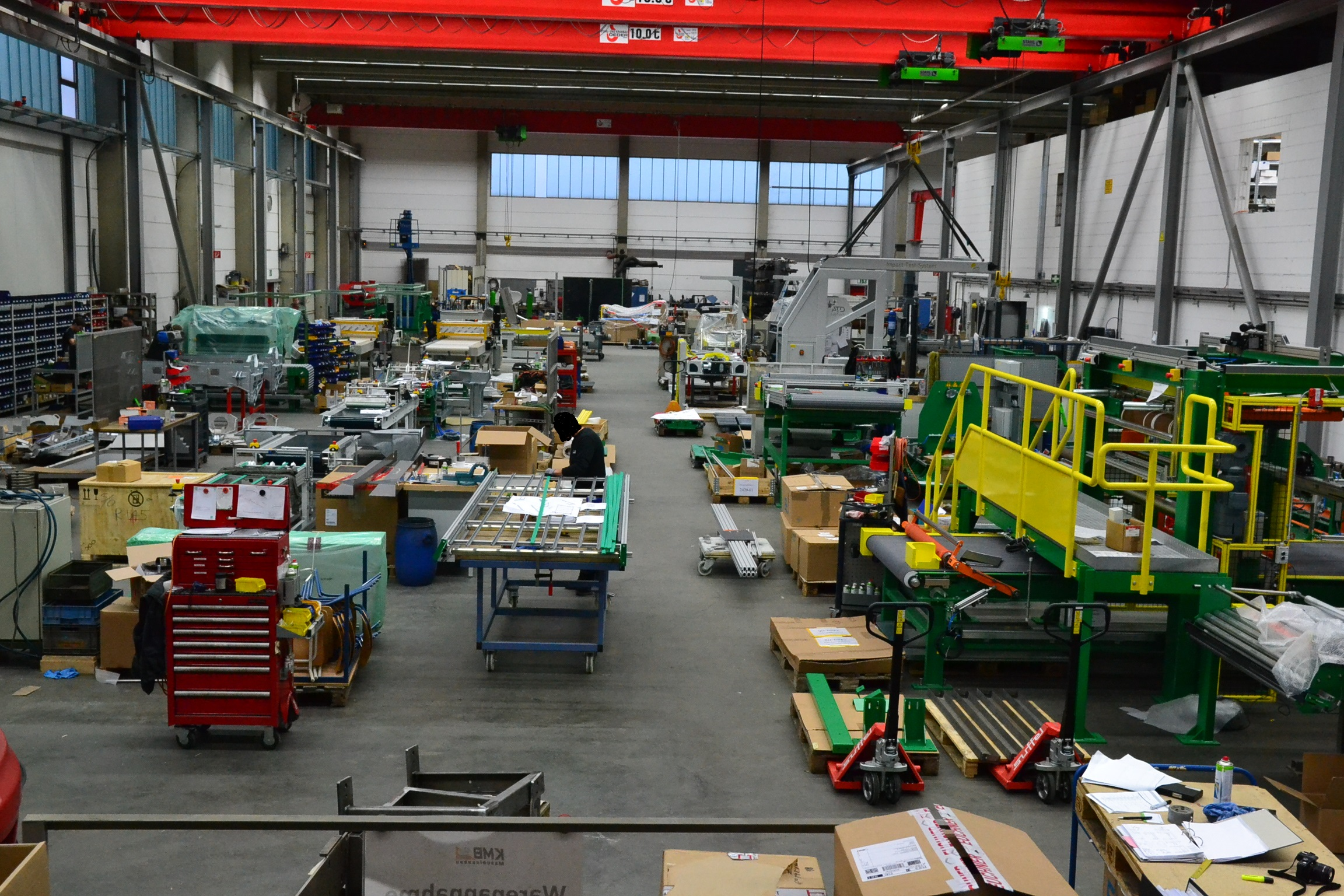 Montagehalle KMB GmbH Himmelstadt