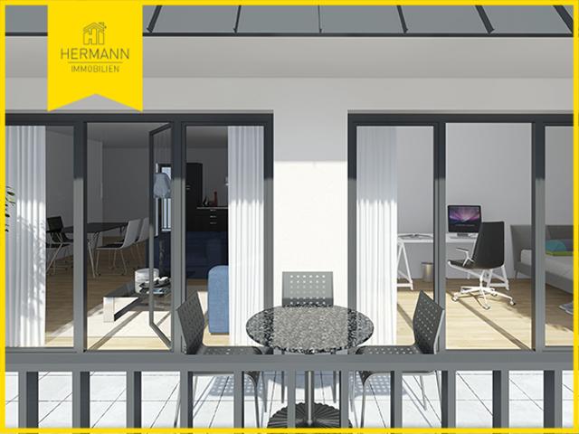 3-Zimmer-Neubau-Penthouse-Eigentumswohnung mit 2 Dachterrassen