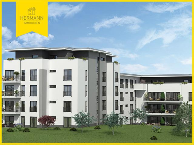 3 Zimmer-Neubau-Wohnung mit gro�em Wohn-Essbereich und S�dbalkon