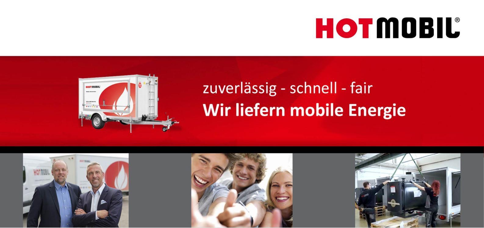 HOTMOBIL zuverlässig - schnell - fair - Wir liefern mobile Energie