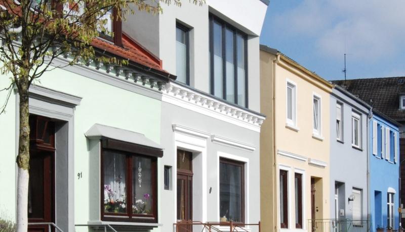 Nachverdichtung für mehr Wohnraum