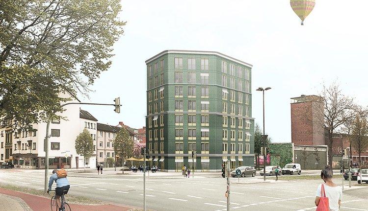 Zentrales Wohnen im grünen Sechseck