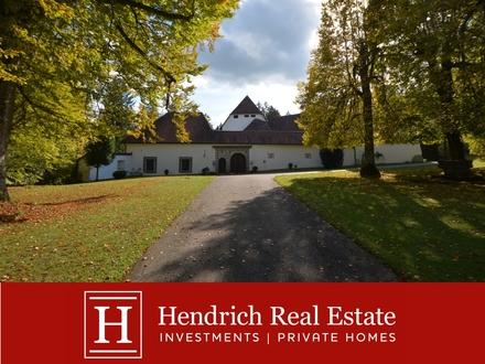 Saniertes Renaissance-Schloss in Oberösterreich
