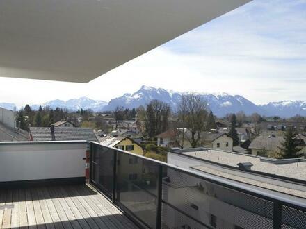 Appartementwohnung mit Panorama-Balkon und Tiefgaragenplatz
