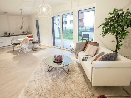AIGEN ERSTBEZUG - Exquisite 2 Zimmer Gartenwohnung