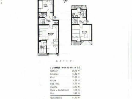 3,5 Zimmer Wohnung in 89165 Dietenheim