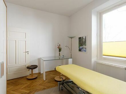 Möblierter Praxisraum für 2,5 Tage/Woche, zentral und ruhig