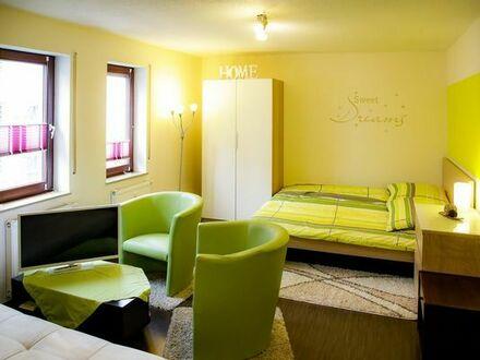 möblierte 1 Zimmerwohnung Lörrach Stetten direkt an der Grenze zu Riehen (Schweiz)
