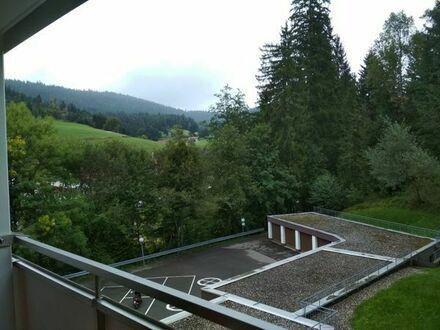 Luftkurort zum Wohnen und Arbeiten mit toller Aussicht!1-Zimmerwohnung in 72270 Baiersbronn-Obertal