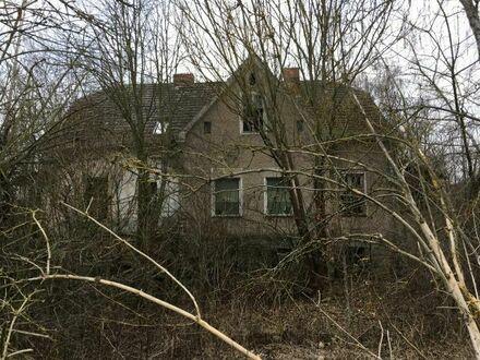 Schnäppchenhaus + Baugrundstück Einfamilienhaus Abrisshaus Haus Grundstück in Brandenburg Oderbruch