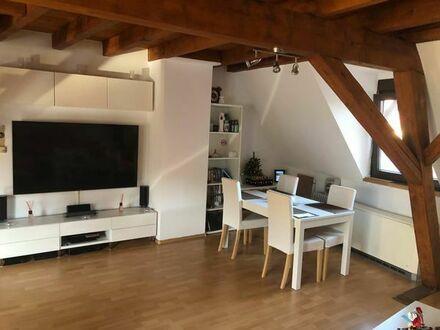 Mühlhausen DG /Loft 2 Stöckig 2 helle Zimmer mit EBK ab 1.9.2019