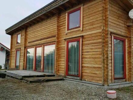 Öko-Blockhaus, Barrierefrei, 5.Zimmer, 124 qm, im sonnigen Bayern 88145 Hergatz