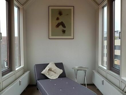 Stadt-Appartement möbliert mit Neckarblick