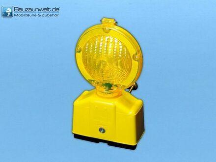 10 Stück Baustellen Warnleuchte Gelb, inkl. 10 Schlüssel zum öffnen - inkl. Versand