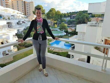 Wunderschöne exklusive Luxus Eigentumswohnung in Cala Vinyas mit Meerzugang