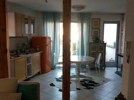 Möblierte 2 Zi.Wohnung mit großem Freisitz, ab 1.7.2019