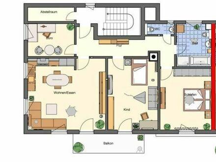 Kern sanierte & helle 4-Zimmer-Wohnung in ruhiger zentraler Lage von Privat Tel 017699678592