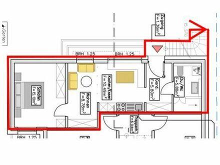 Vermietung 2 Zimmer Wohnung, Passivhausstandard