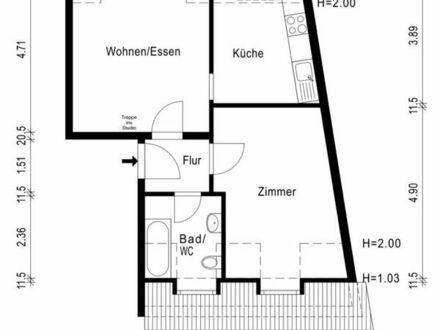 3- Zimmer Maisonette Wohnung
