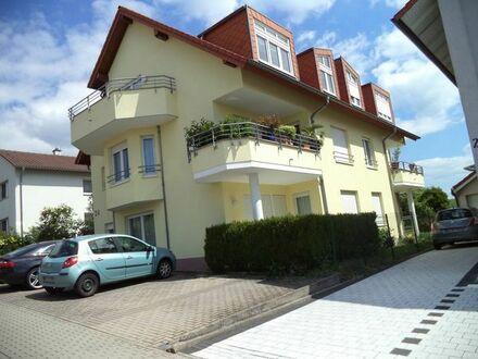 Wiesloch, 2 ZKB, ca. 65 qm, EG, Balkon, Südwestseite, ruhige Lage, Bj. 1997