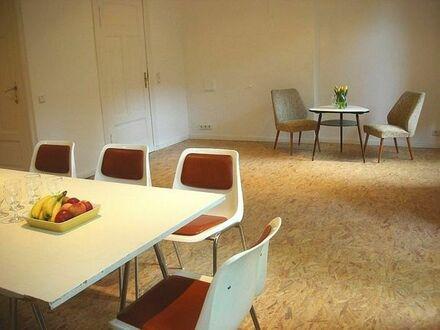 Bild_ruhiger Gruppenraum im Wedding für kleine Seminare oder Besprechungen