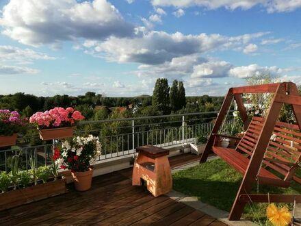 Sonnenuntergägne auf der eigenen Terrasse