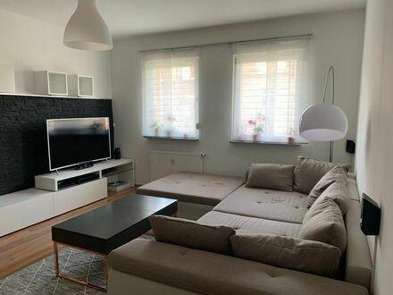 24qm Zimmer in hochwertig renovierter und teil-möblierter 2er-WG mit moderner EBK und großem Bad+BLK