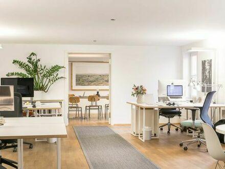 Arbeitsplätze in Bürogemeinschaft im Zentrum Münchens