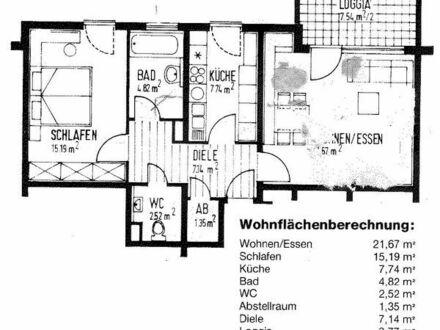 Vermiete eine 2ZKB 64m2 Wohnung in Mannheim Schönau