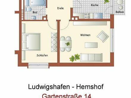 2-Zimmerwohnung in LU-Hemshof- 2 min zu Fuss zum Rathaus-Center