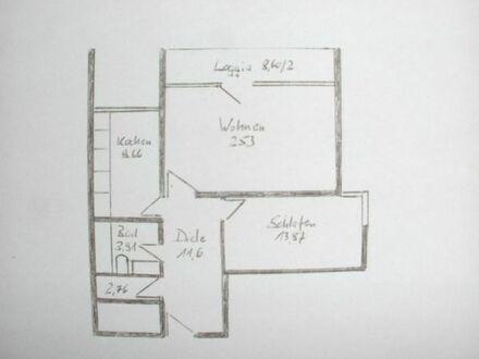 Super geschnittene 2-Zimmerwohnung incl. EBK