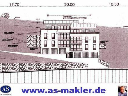 Grundstück für 6 große und exklusive Wohnung mit herrlichem Panoramablick!