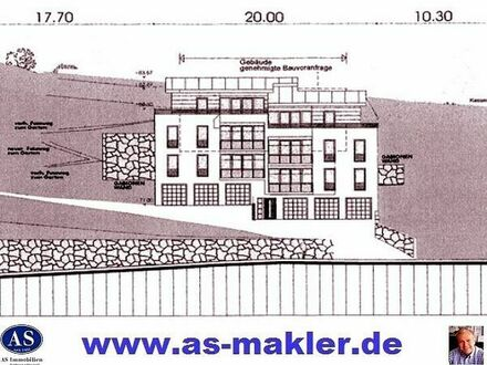 Baugrundstück für 6 große 4,5 Raum Wohnungen mit eigene Garten!