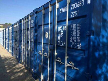 Lager Container für Hausrat u. Möbel