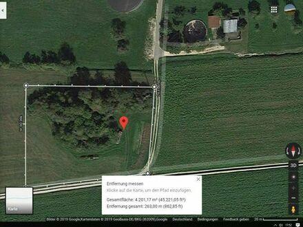 Freizeitgrundstück für Ferien, Wochenende usw in 89143 Pappelau, 18 km westlich von Ulm