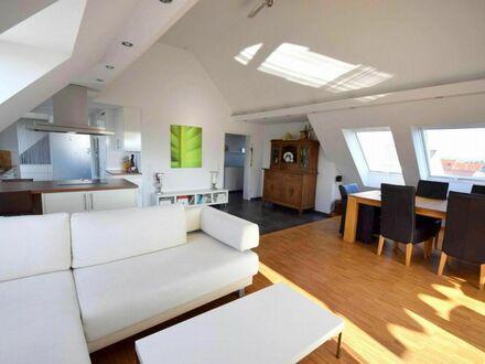 Exklusive Dachgeschoss-Wohnung mit zwei Dachterrassen und Panoramablick