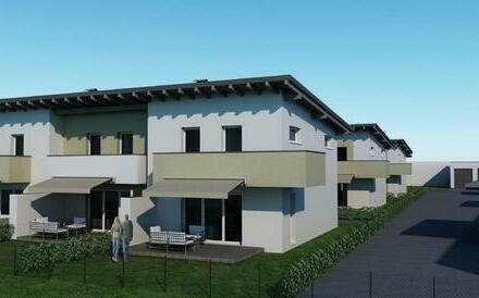 Neubau: Reihenhausanlage in Leogang