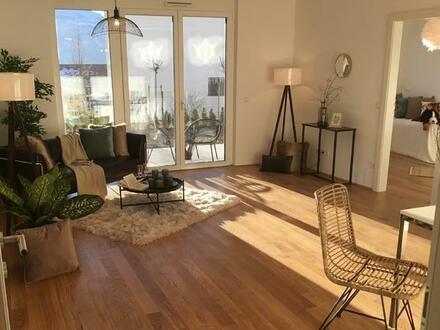 Bezaubernde 4 Zimmer Wohnung in Steinbach mit Seeblick