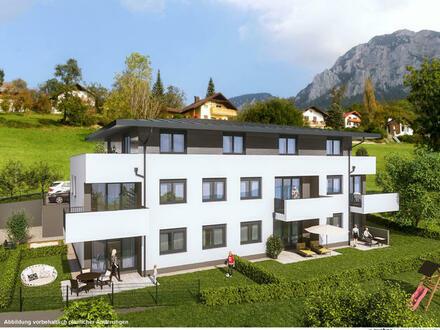 Traumausblick - 3 Zi.-Wohnung in Steinbach am Attersee