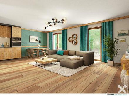 3-Zimmer-Alpin-Neubauwohnungen mit touristischer Nutzung in Unken