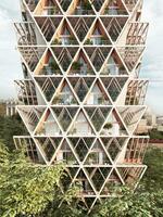 Architektur der Zukunft: Gestapelter Schrebergarten