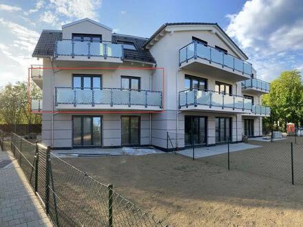 Haar - Neubau! Exklusive 3-Zimmer-Wohnung in Haar mit zwei Balkonen und EBK