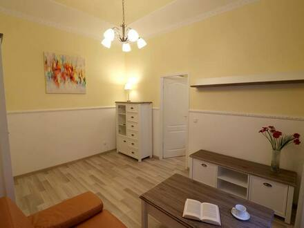 Frankfurt am Main - Fully furnished, cozy flat. 2 rooms, lovely kitchen, floor heating
