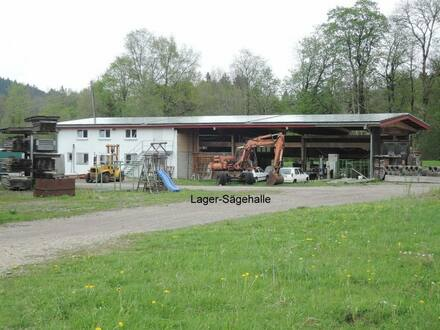 Leutkirch - Für Holzlager, Holzverarbeitung, Gewerbegrundstück bis zu 10.000 m² mit oder ohne Lagerhalle, 13 km südl. v…